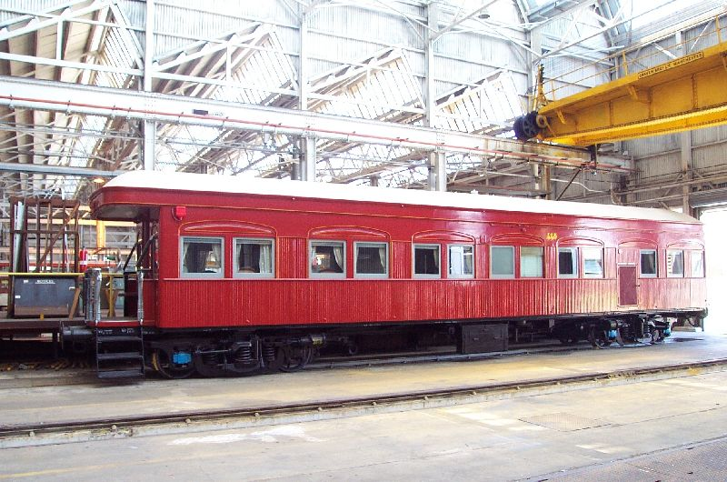 Vice Regal (Special Car) 445 at Ipswich Railway Workshops